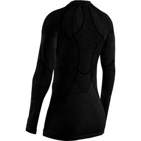 X-Bionic Apani 4.0 T-shirt Manches longues Col rond Mérinos Femme, black